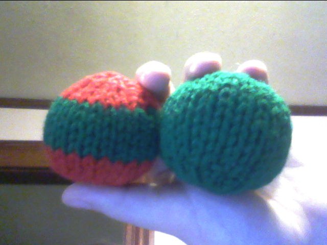 Knitting Patterns For Toy Balls : Simple Knit Ball Its a String Thing